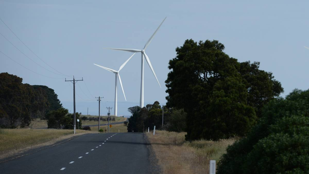 mount mercer wind farm