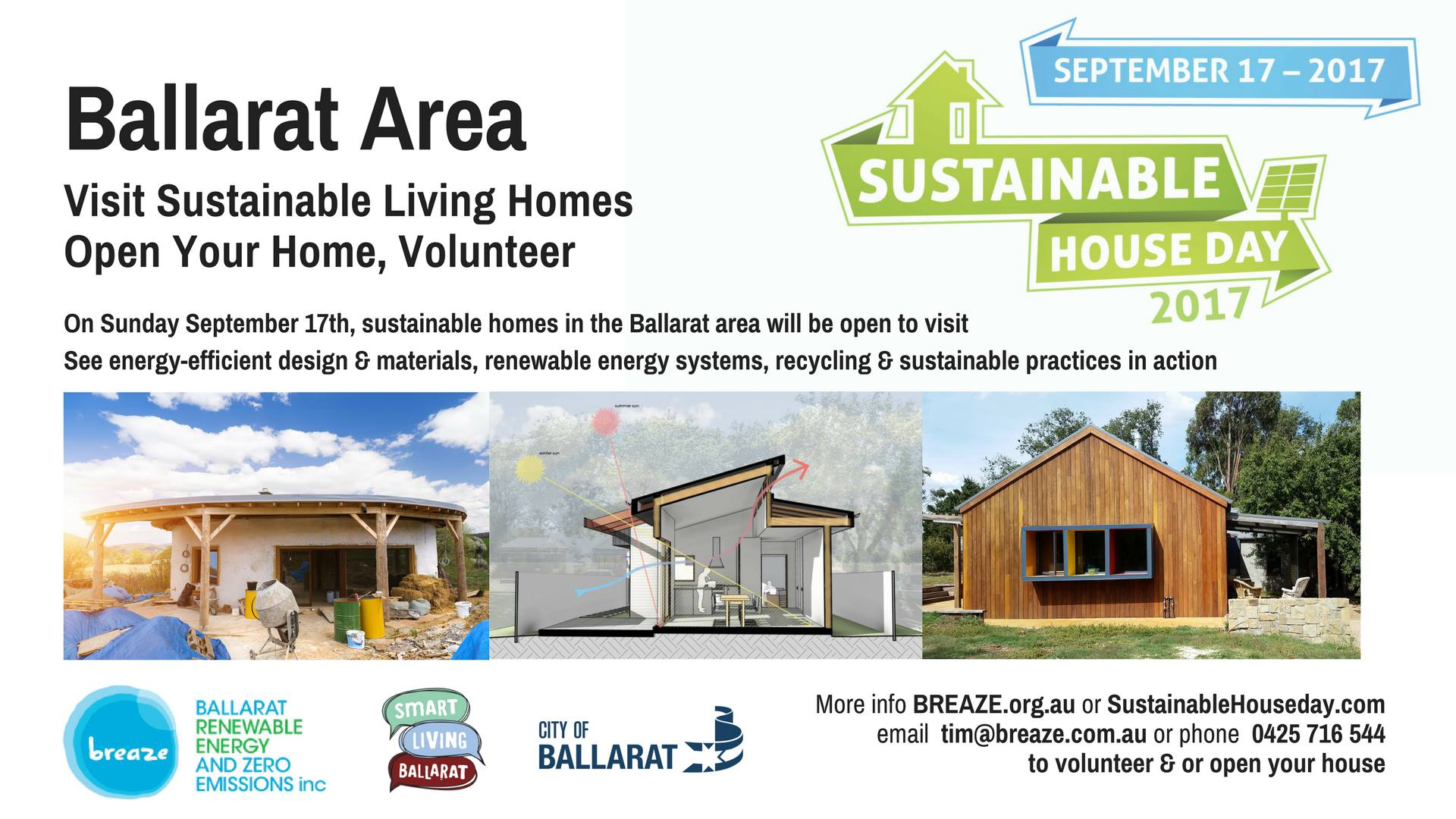 Sustainable House Day - Ballarat Renewable Energy and Zero Emissions