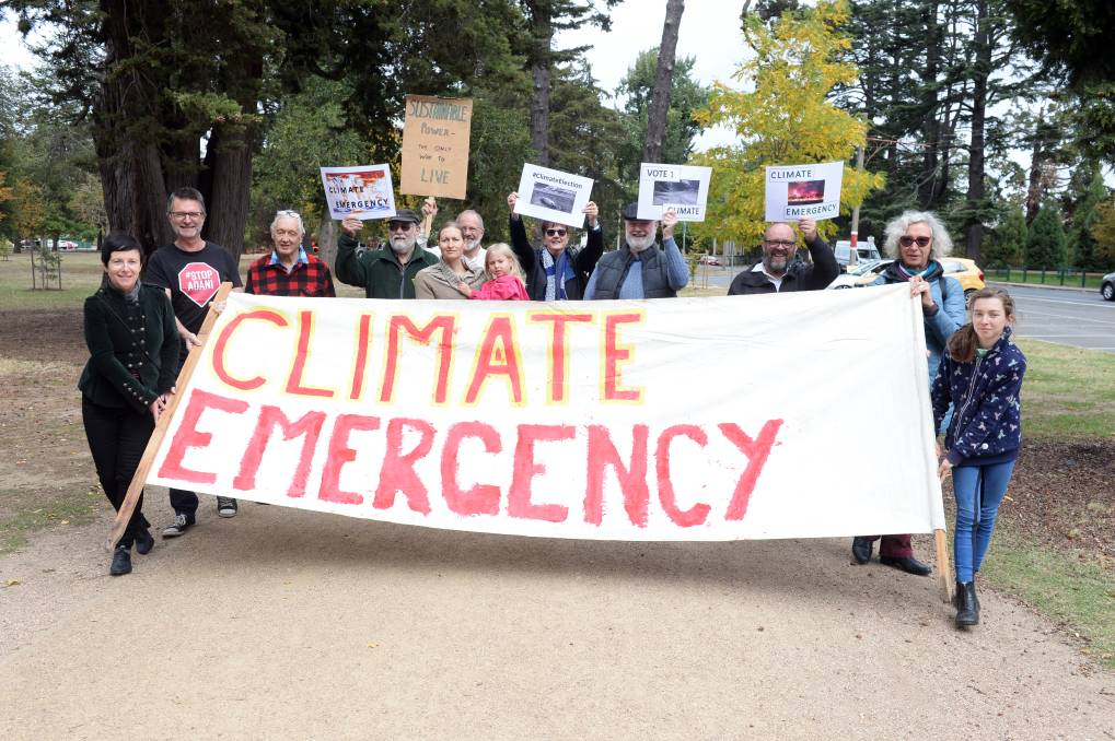 Climate emergency Picture Kate Healy