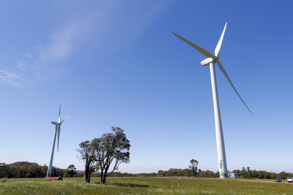 2019 02 12COMMUNITY ENERGY Hepburn Wind was Australias first community owned wind farm The two turbines produce enough clean energy for over 2000 homes Picture Dylan Burns