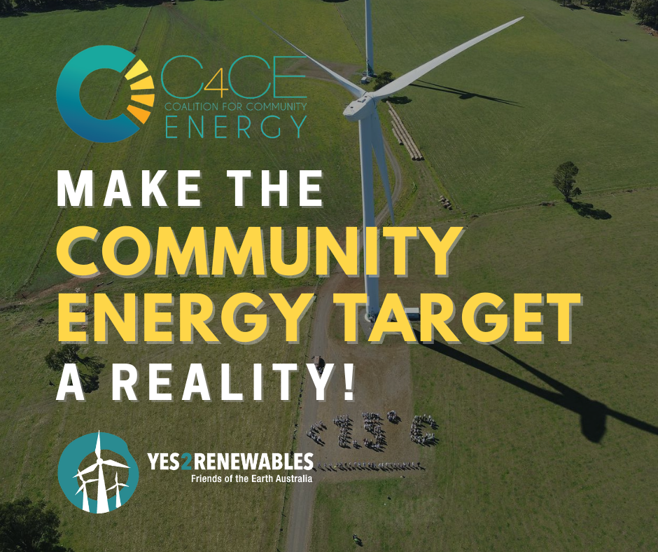 Sign the petition for a Community Energy Target