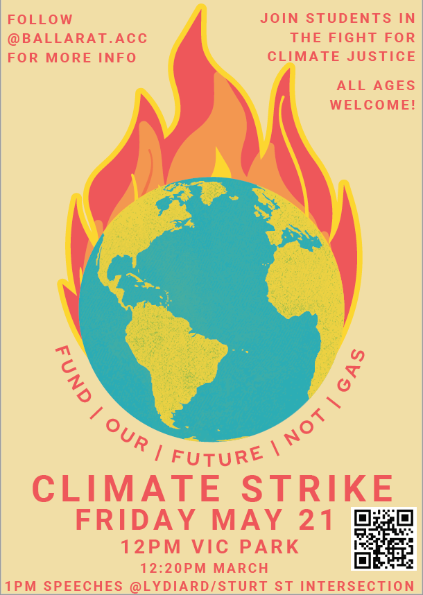 Student Climate Strike 21 May – Call for Marshals