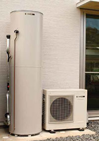 Sanden Eco Heat Pump Hot Water
