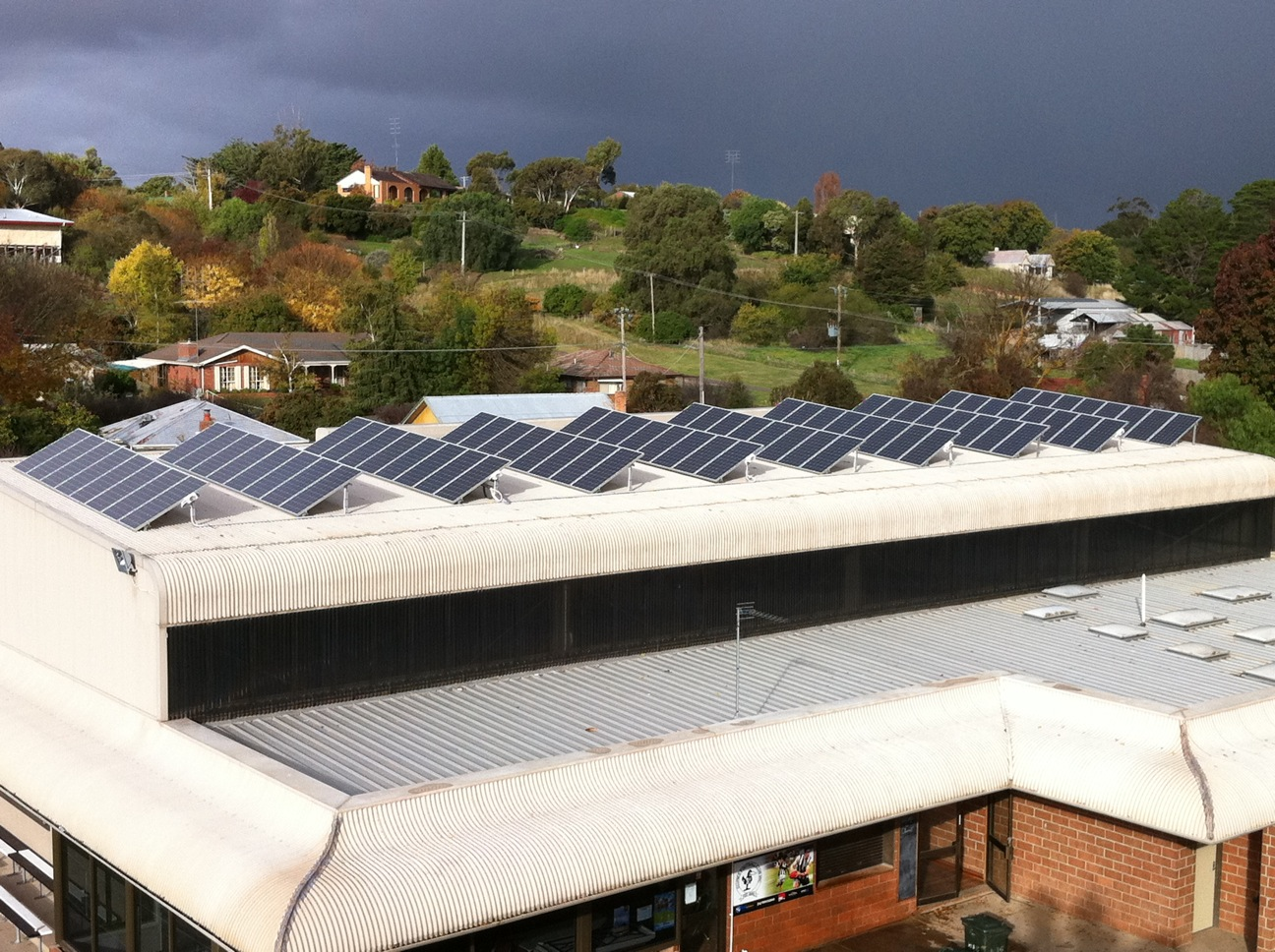 clunes recreation reserve 15kw