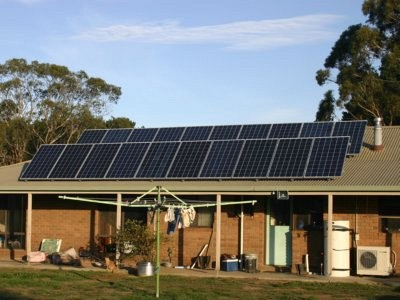 Off-Grid Ready Solar Power Solar Panels Mount Egerton